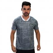 Camisa Oficial Goiás Green Goleiro Cinza 2021