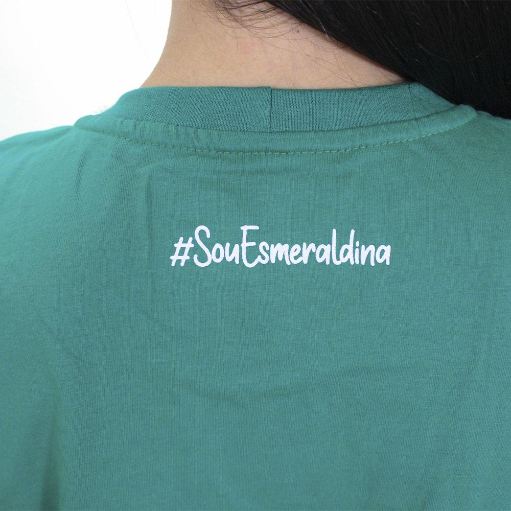 Camisa Goiás Esmeraldina Verde Feminina 2021