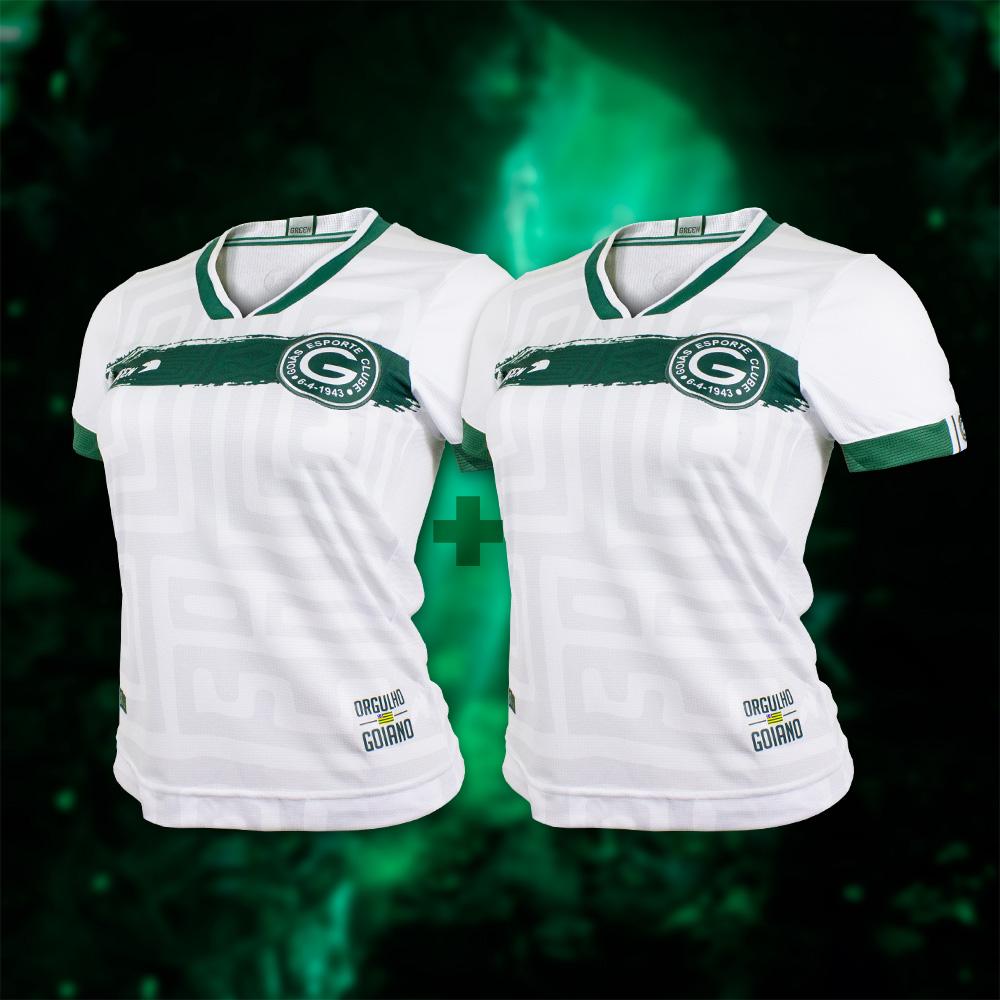 Camisa Goyazes Feminina 2 Unidades + Cupom Coleção 2021