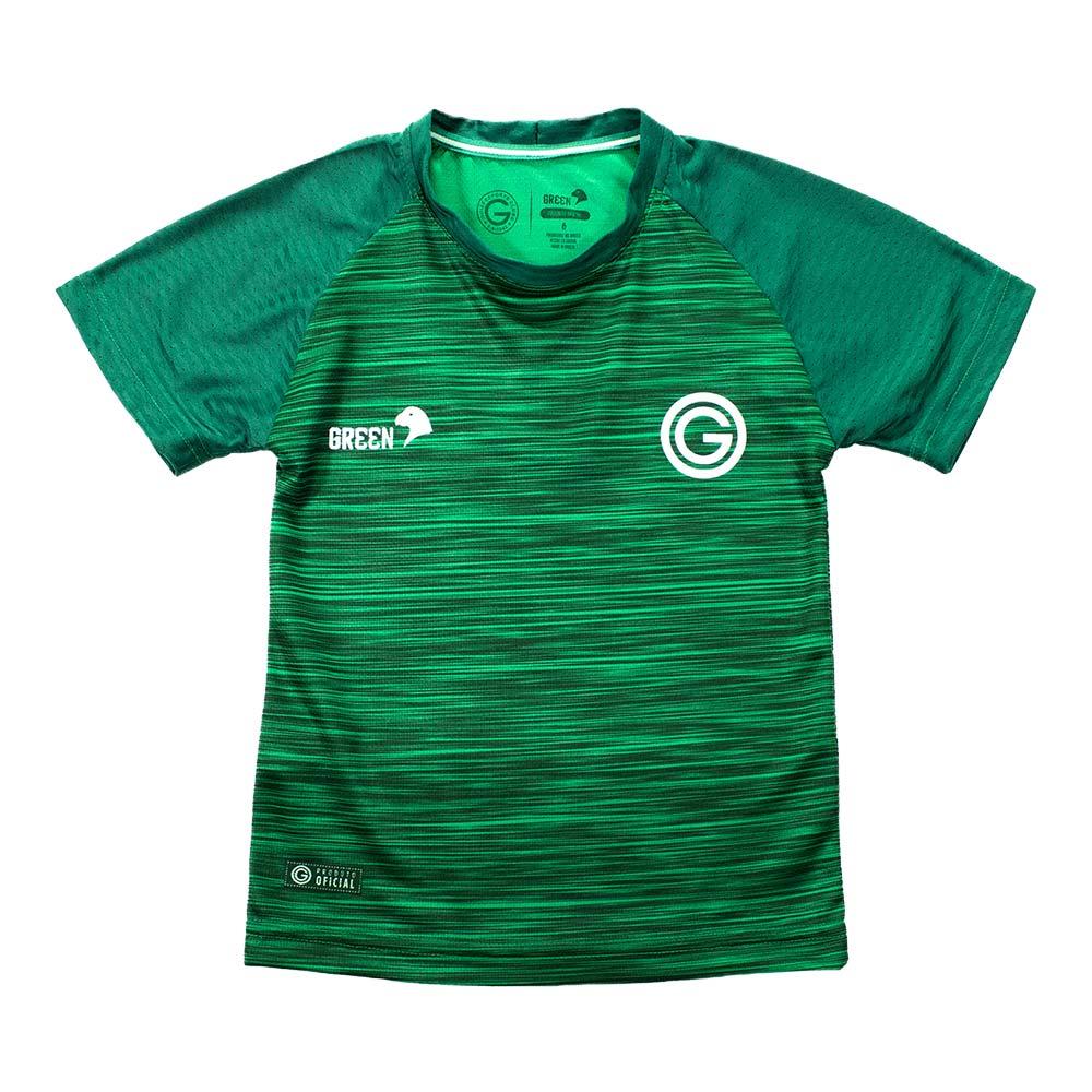 CAMISA INFANTIL GOIÁS GREEN GRAMADO 2020