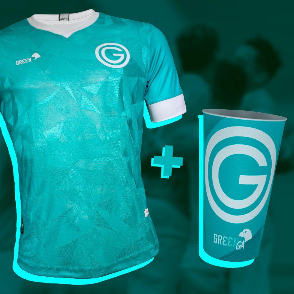 Camisa Jogo III Masculino + Copo Gr33nga