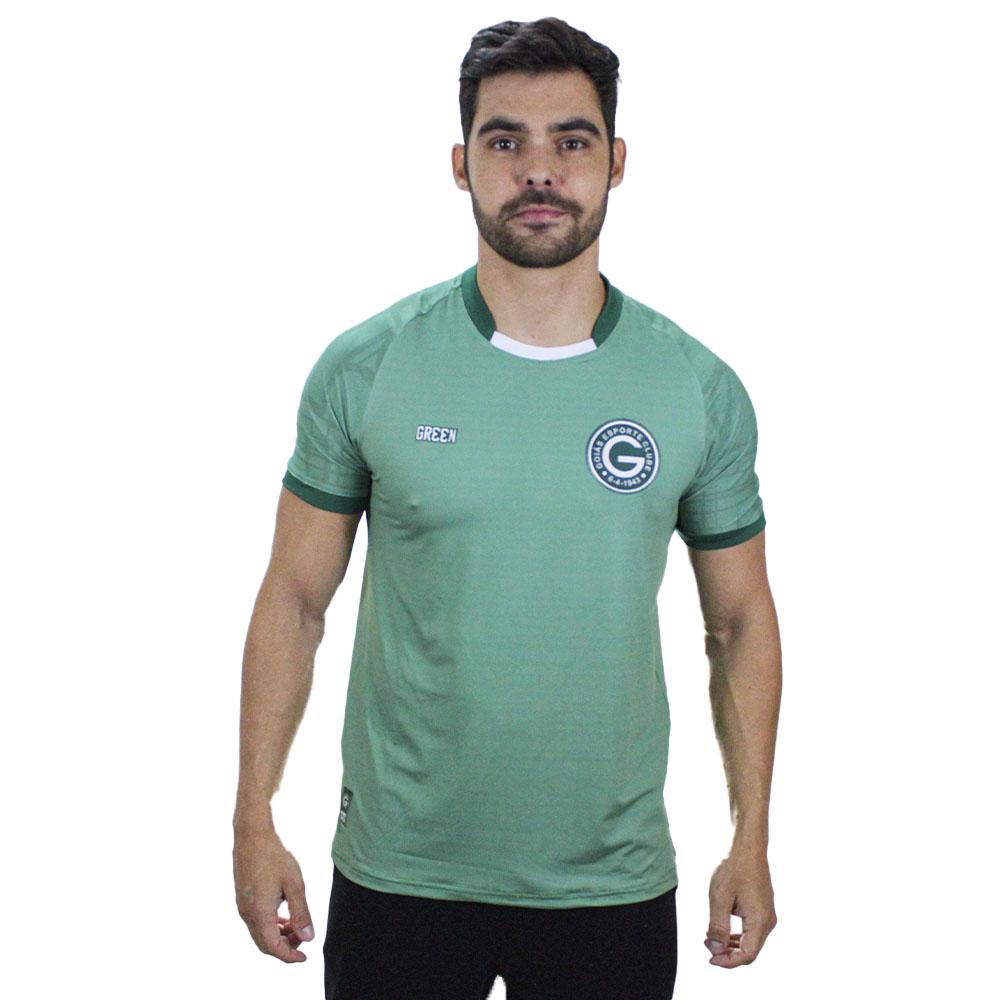 Camisa Oficial Goiás Green  Concentração Comissão 2021 Masculina