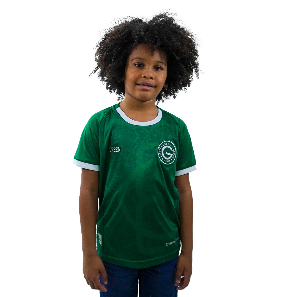 Camisa Oficial Goiás Green Jogo I 2021 Juvenil