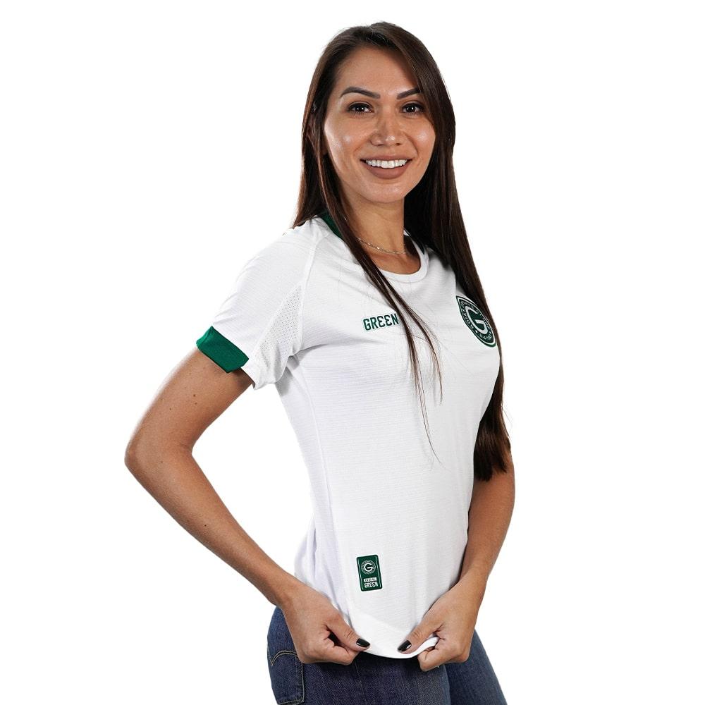 Camisa Oficial Goiás Green Jogo II 2021 Feminina