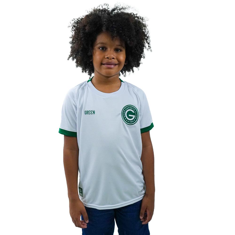 Camisa Oficial Goiás Green Jogo II 2021 Juvenil