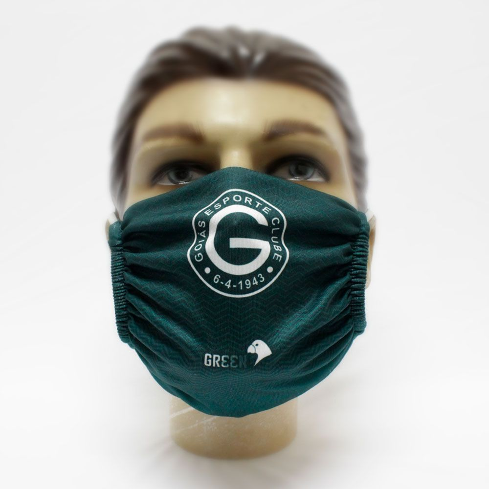 Kit 4 Máscaras - Goiás Green