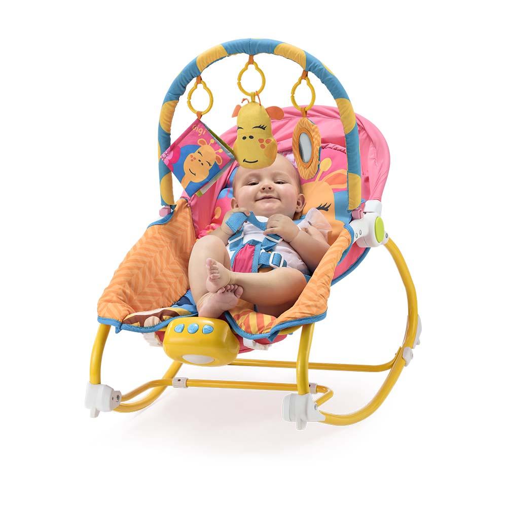 Cadeira De Balanço Para Bebês 0-20 Kg - Multikids
