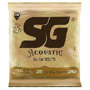 Encordoamento SG para Violão Aço 011 Bronze 85/15
