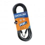CABO DATALINK POP 7 MT   0,20 mm2 P10-P10 Preto Injetado L=7