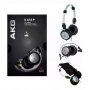 Fone de Ouvido AKG K414P Mini Headphone