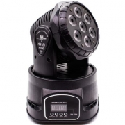 MINI MOVING MAKPRO HEAD WASH MKP-70MMK 7 LEDS 10W RGBW