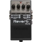 PEDAL BOSS RV-6 DE EFEITO REVERB GUITARRA.