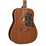 violão elétrico folk VIOLAO MICHAEL VM925DT SS marrom