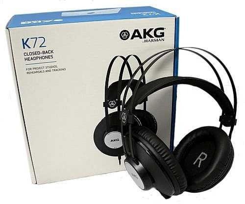 Fone de Ouvido AKG K72 Closed Back Profissional