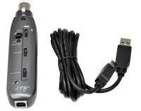 Adaptador para Microfone  JTS MA-XU XLR para USB Phantom Power 48V