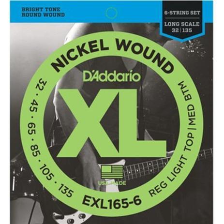 ENCORD. D'ADDARIO EXL165-6 032 6 CORDAS