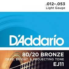 ENCORD. D´ADDARIO EJ11 012 VIOLAO ACO