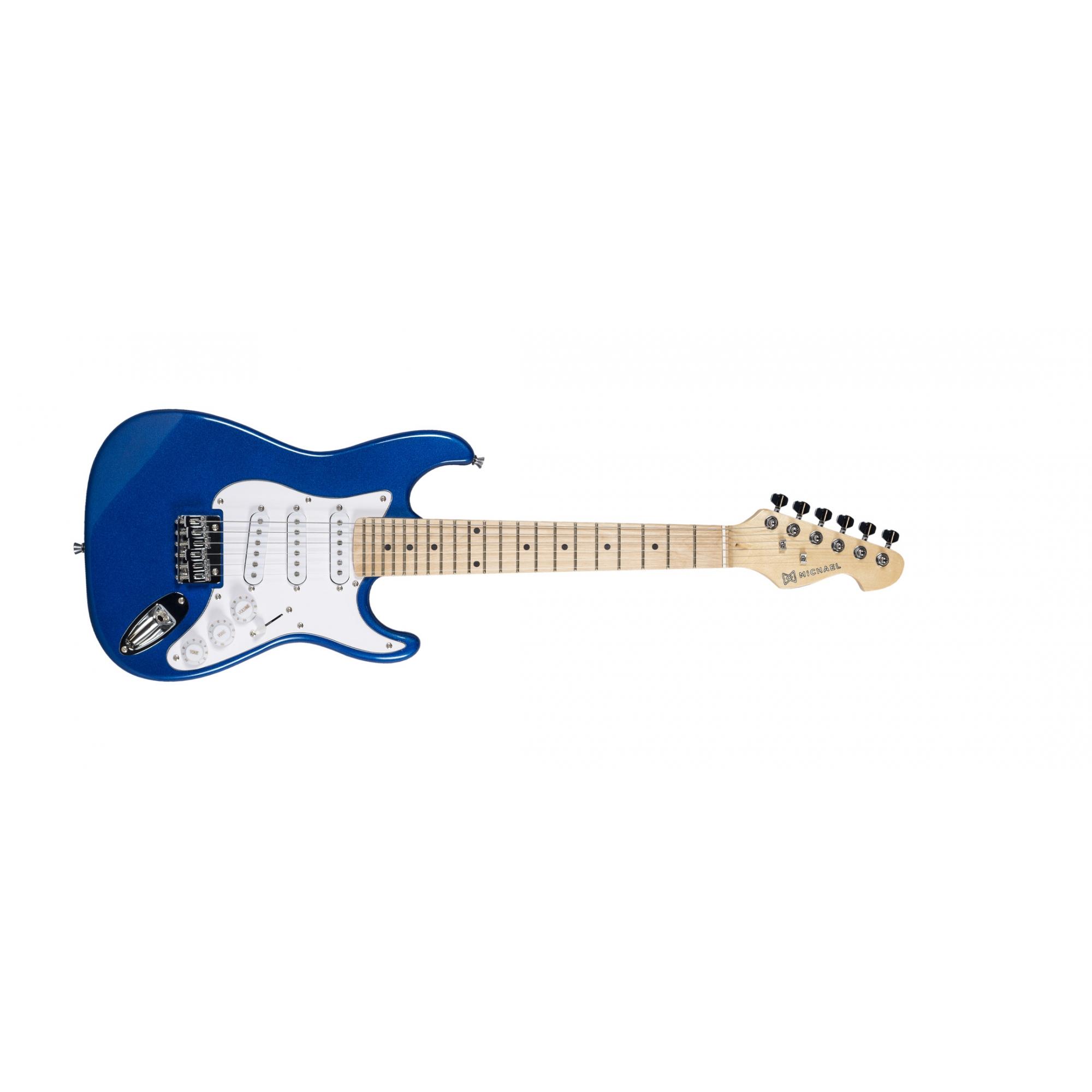GUITARRA MICHAEL GM219N MR STRATO INFANTIL M BLUE