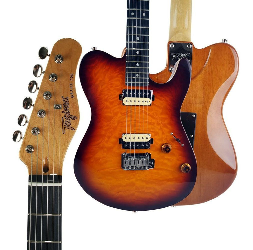 Guitarra Tagima Grace-700 HB Cacau Santos Cor HB