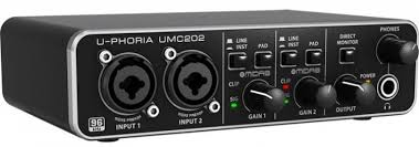 INTERFACE BEHRINGER UMC202HD