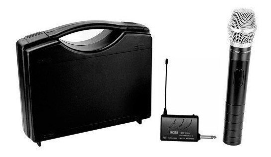 Microfone CSR CSR-2010 VHF Sem Fio - Outlet