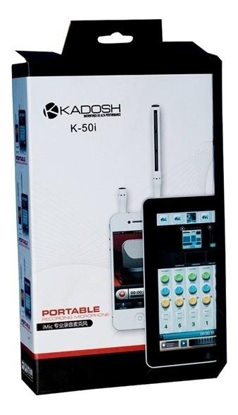 MICROFONE KADOSH PORTATIL K-50i