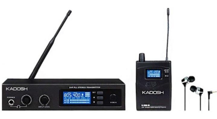 MONITOR KADOSH K-1000IN EAR SEM FIO PALCO