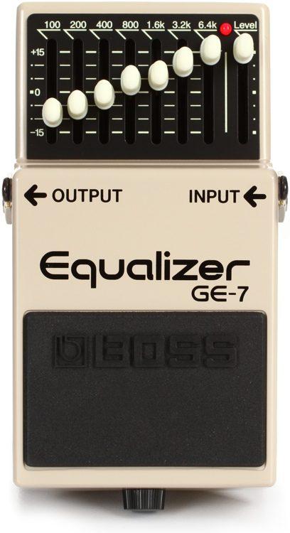 PEDAL BOSS GE-7 EQUALIZER P/ GUITARRA
