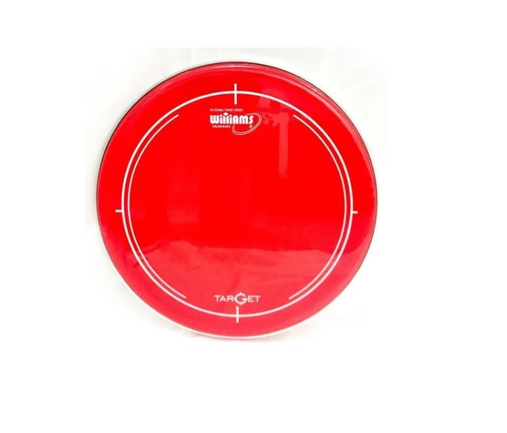 "PELE WILLIAMS WR2 TARGET RED FILME DUPLO 16"" VERMELHA"