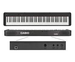 PIANO CASIO CDP-S150BKC2-BR STAGE DIGITAL PRETO MODELO