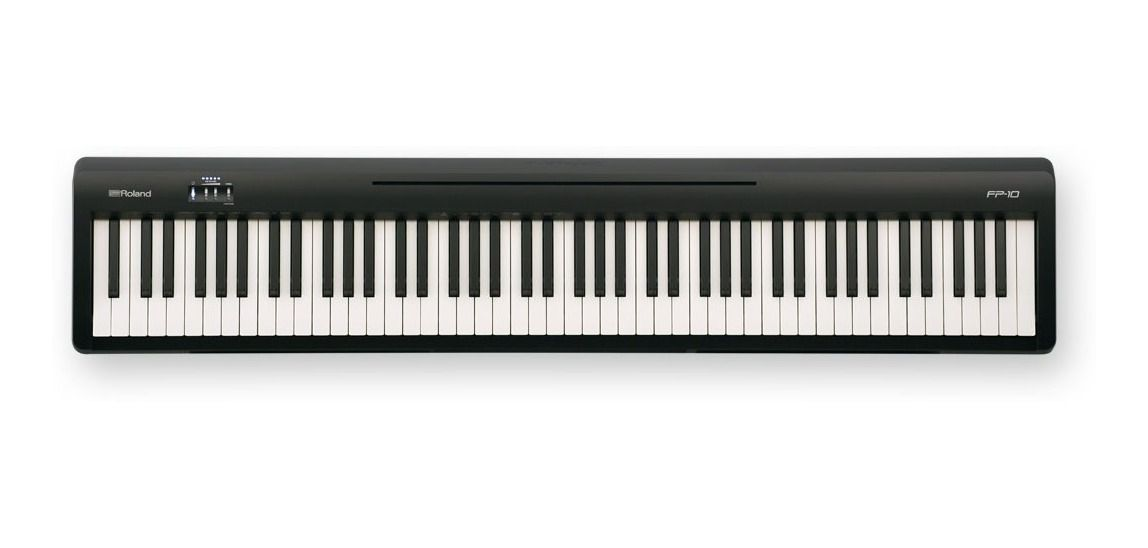 PIANO ROLAND FP-10 BK DIGITAL 88 TECLAS