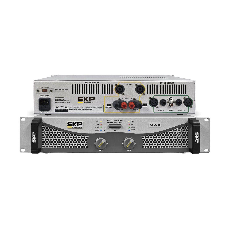POTENCIA SKP MAX-720  AMPLIFICADOR