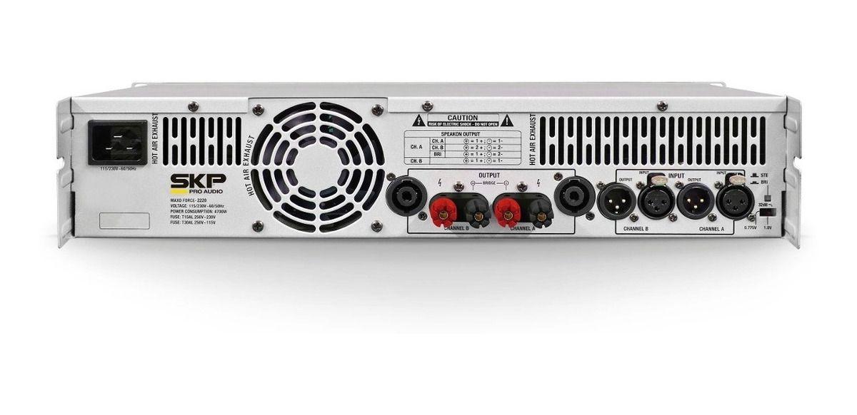 POTENCIA SKP MAXD-2220 DIGITAL