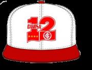 Bone aba reta Bordado da Camisa 12 (PRÉ VENDA)