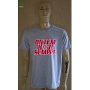 Camiseta Cinza Ontem, Hoje e Sempre da Camisa 12