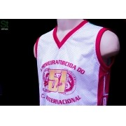 Regata 51 anos, modelo de Basquete da Camisa 12 do Inter!
