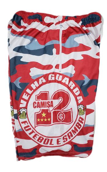 Bermuda Camuflada da Velha Guarda