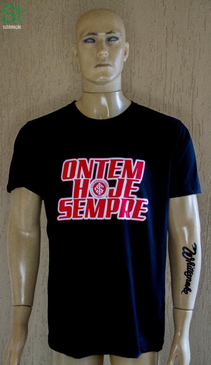 Camiseta Preta Ontem, Hoje e Sempre da Camisa 12