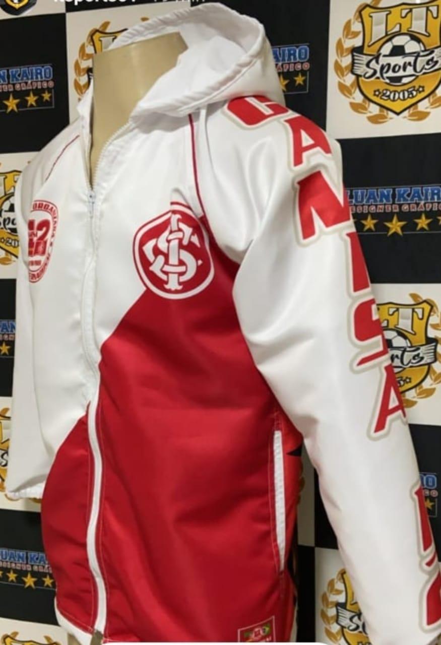 Corta Vento da Camisa 12 - Macaco Bolado com logos Bordados!