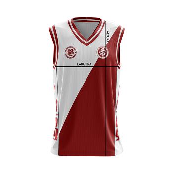 Regata Padrao de Basquete da Camisa 12