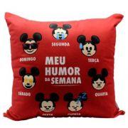 ALMOFADA MICKEY HUMOR DA SEMANA /Duvidas (34) 9 9103-2567