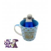 caneca com infusor para chá É uma boa idéia