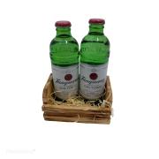 Mini cesta de presente 2un Gin (PRODUTO ENTREGUE SOMENTE NA REGIÃO (ENTRAR EM CONTATO (34) 9 9103-2567)