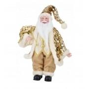 Pai Noel dourado 40 cm