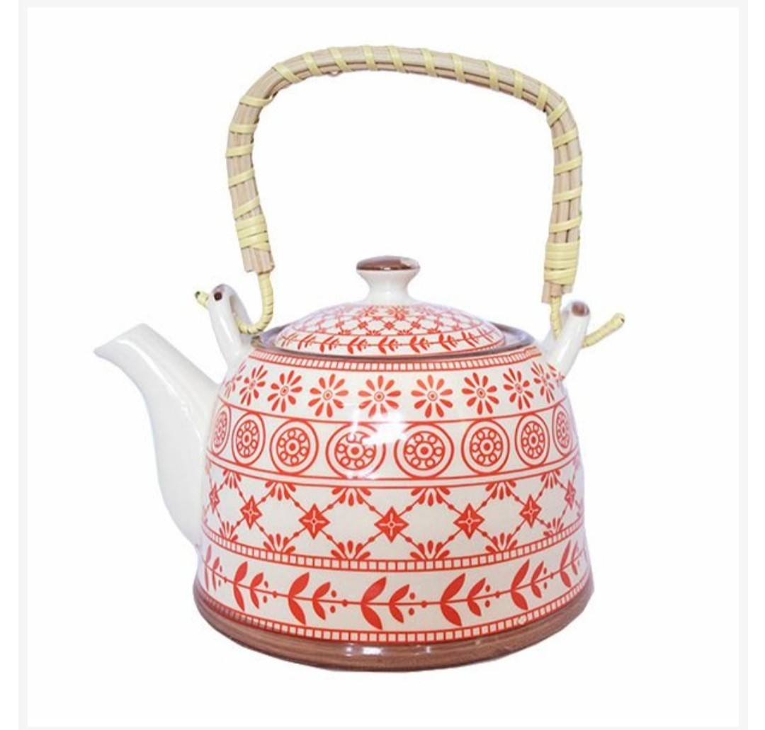 Bule com infusor de chá