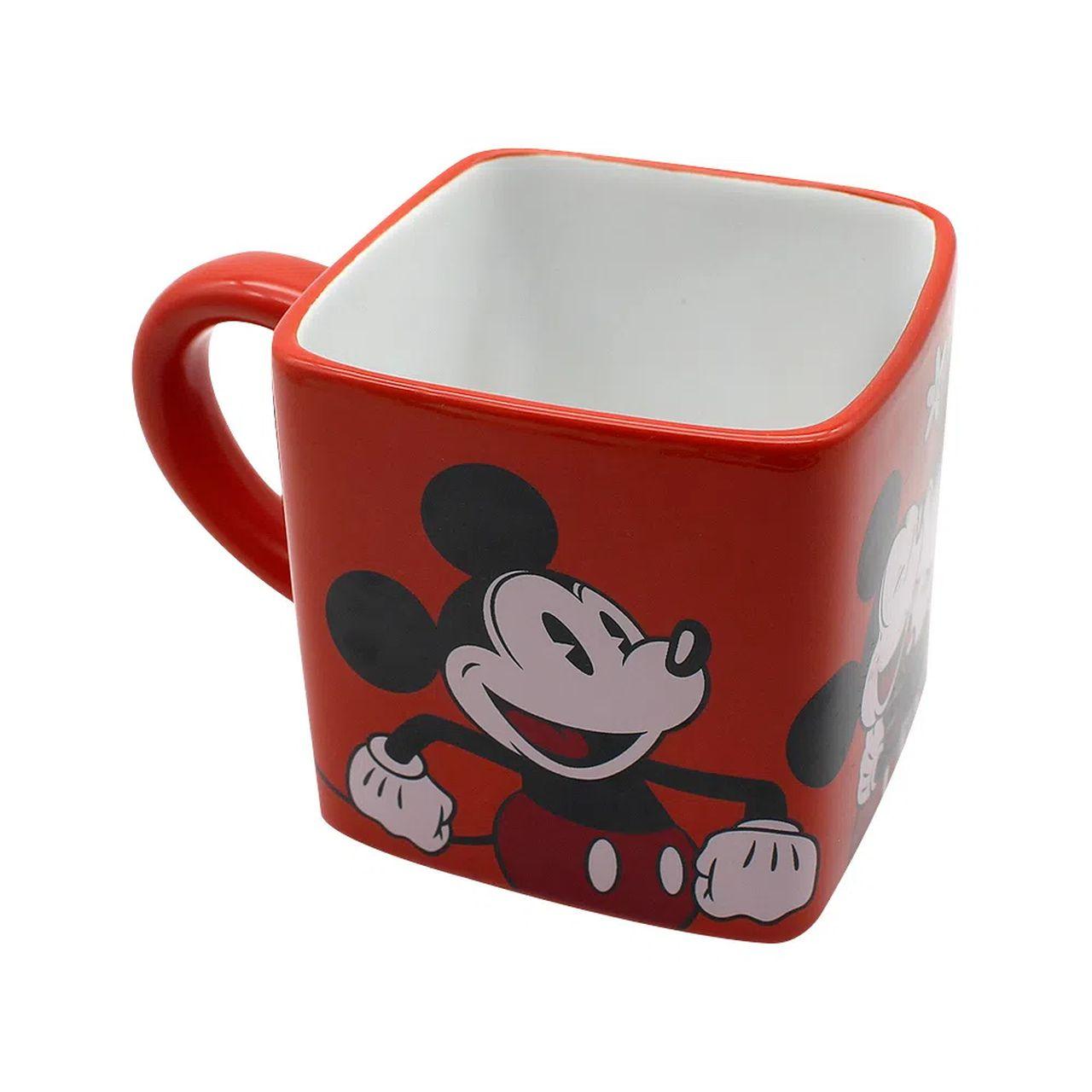 caneca cubo Mickey e Minnie