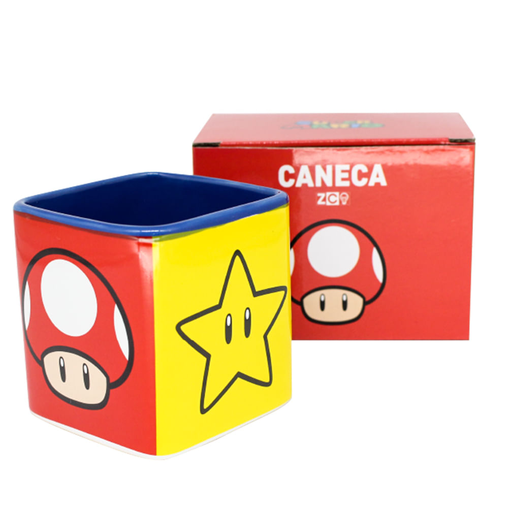 Caneca Mario Icones