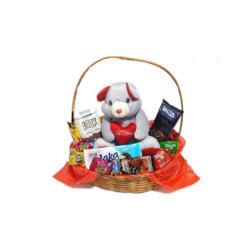Cesta presentes / Dia Dos namorados - Produto entregue somente na região (Entrar em contato (34) 9 9103-2567