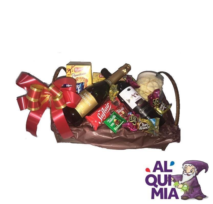 Cesta presentes / Natal  - Produto entregue somente na região (Entrar em contato (34) 9 9103-2567