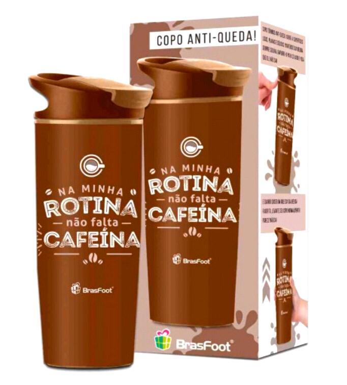 COPO VENTOSA TEMAS - NÃO FALTA CAFEÍNA Disponível: Em Estoque  Acesse para ver preços Código: 2639 Capacidade: 500ml Tamanho: Altura: 22.5 cm x Diâmetro: 8 cm